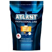 Гейнер Atlant Elite Mass Gain Fuel 1000 гр