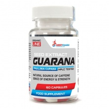 Энергетик WestPharm Guarana 60капс 500мг