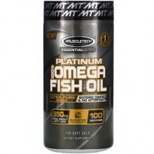 Аминокислоты MuscleTech Essential 100% Fish Oil 100 кап