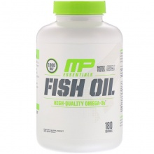 Антиоксидант MusclePharm Essentials Fish Oil 180 капсул