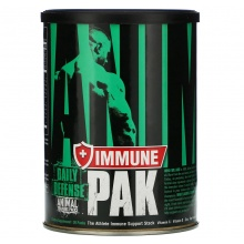 Витамины Universal Nutrition Animal Pak + Immune 30 пак